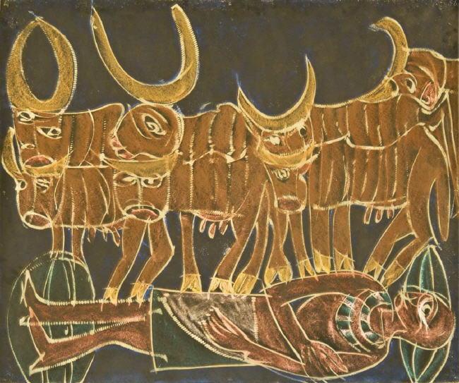 die 7 mageren kühe