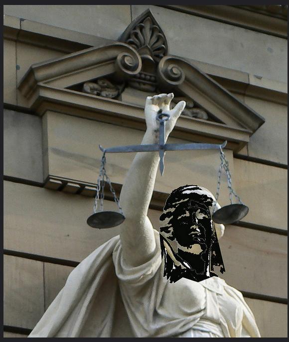 trauer muss justitia tragen